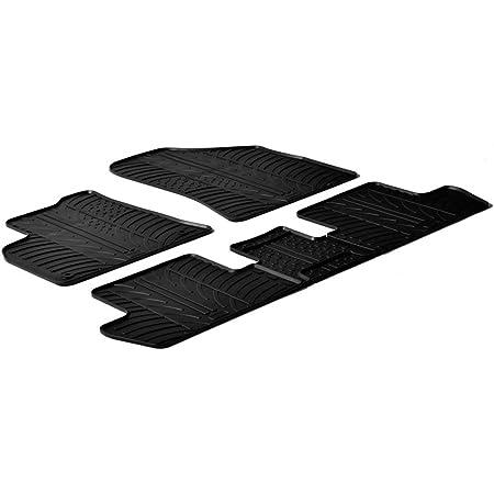 Travall Mats Gummifußmatten Kompatibel Mit Peugeot 5008 Ab 2017 Trm1241 Allwettermatten Nach Maß Fussmatten Set Auto