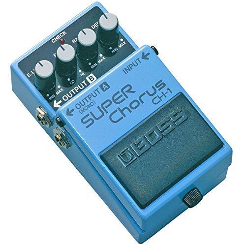 Boss CH-1 Super Chorus Stereo + fuente de alimentación keepdrum 9 V