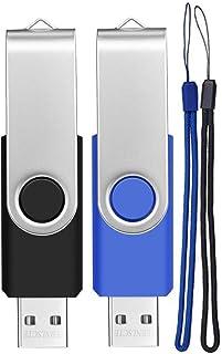 comprar comparacion Pendrive 32GB 2 Piezas Memorias USB Portátil USB Flash Drive 32 GB Práctico Pen Drives Almacenamiento de Datos Llave USB c...