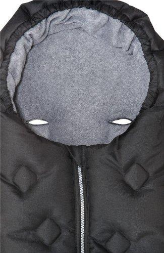 Safety 1st 18699600 Day Dream - Saco para las piernas para sillas de paseo, color negro