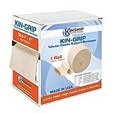 KinGrip Latex-Free Cotton Spandex Tubular Elastic Support Wound Care Bandages Size F | Kin...