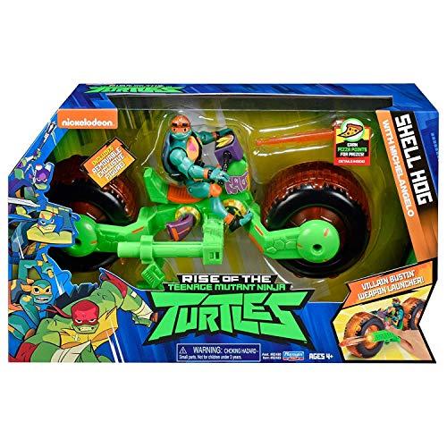 Rise of the Teenage Mutant Ninja Turtles Adolescente Mutant Ninja Turtles Guscio Hog con Michelangelo