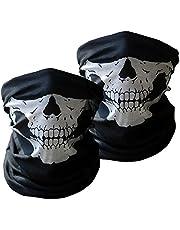 Xpassion skalle rörformig skyddande dammmask bandana motorcykel polyester halsduk ansikte halsvärmare för snowboard skidåkning motorcykel cykling