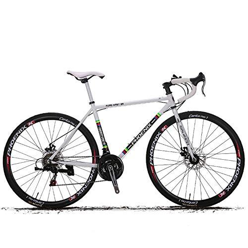 HECHEN 700C Bicycle-27-Speed-Rennrad-Scheibenbremsen - Rennsportwagen für männliche und weibliche Studenten,B