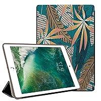 PRINDIY iPad mini 5 2019/iPad mini ケース,耐久性 耐衝撃 3つ折り スタンド機能付き PC + PUレザー 傷防止 3つ折り スタンド機能付き クリア バックカバー iPad mini 5 2019/iPad mini Case-B 62