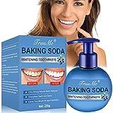dentifricio sbiancante, baking soda toothpaste, dentifricio sbiancante denti, sbiancamento denti professionale, sbiancante denti, rimozione delle macchie naturali rinfrescante sbiancamento denti
