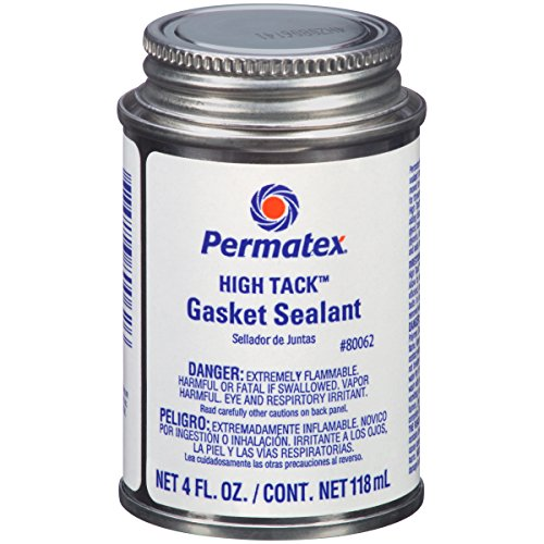 Permatex 80062 High Tack Gasket Sealant, 4 oz. , Black