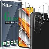 Ferilinso [5 Pezzi] 3 Pezzi Pellicola Protettiva per Xiaomi Poco F3 Vetro Temperato + 2 Pezzi...