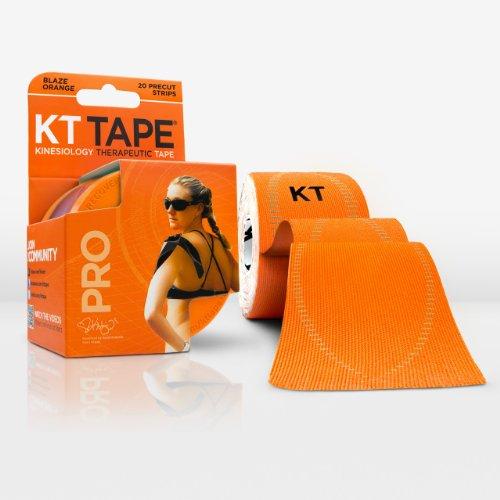 KT Tape Pro Kinesio-Tape / Physio-Tape, synthetisch, elastisch,bietet Schmerzlinderung und Unterstützungbei sportlichen Aktivitäten,100 {b9c4b7e22456992c1d45f059f1a034915ded24b6354fde9ab148003216ec884a} wasserdicht,4,9-m-Rolle, blaze orange