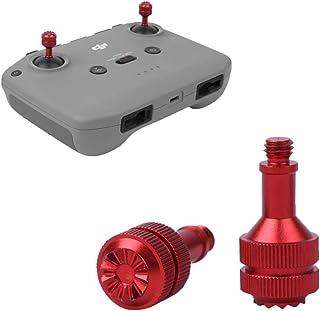 Remote Control Joystick Rocker for DJI Mavic Air 2 / Air 2S/ Mini 2 Drone, Aluminum Smart Controller Joystick (Red)