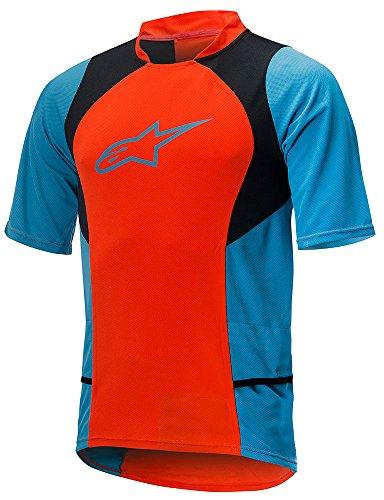 Alpinestar Cycling T-Shirt Manica Corta Blu/Blu Navy L