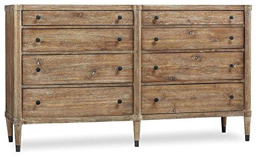 Hooker Furniture Studio 7H Annika 8 Drawer Dresser in Light Wood