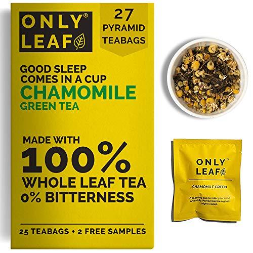 Teabox Chamomile Green Tea