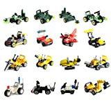 Buildable Vehicles,Party Supplies Toy,Building Blocks Sets for Favors,Goodie Bags,Birthday Favors for Kids