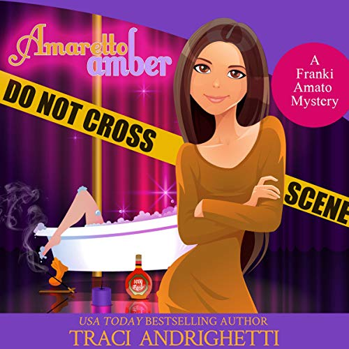 Amaretto Amber audiobook cover art