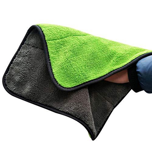 Danigrefinb 1Pc Super Dikke Schoonmaak Doek Auto Care Wax Poolse Wasmiddel Drogen Handdoek 40x40 Inch 4 Stuk
