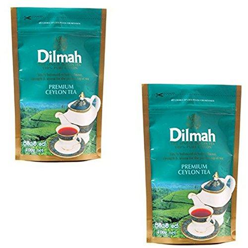 Dilmah Premium Ceylon Tee BOPF 400g X 2 Pack loser schwarzer Tee reiner Sri Lanka Tee