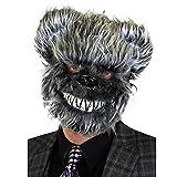 I LOVE FANCY DRESS LTD 1 MASCARILLA para Adultos DE Oso Gris con Detalles Y Pelo Accesorio Disfraces DE Halloween