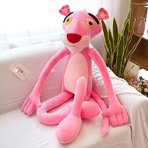 Knuffel kussen schattig meisje roze panter schattig pop meisje pop cadeau-B_100cm