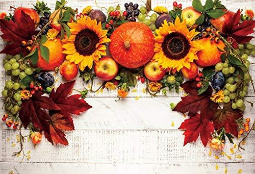 Fondo para fotografía de madera flores primaverales Tablas de borla decoración fondo fotográfico Puntos de estudio A7 7 x 5 ft / 2,1 x 1,5 m