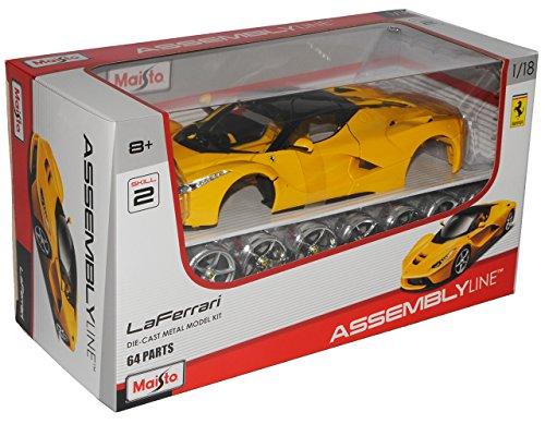 Ferrari LaFerrari Coupe Gelb Ab 2013 Bausatz Kit 1/18 Maisto Modell Auto
