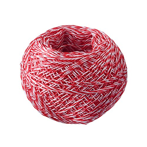 Westmark Grill- und Bratenschnur, Länge: 60 m, Ø 0,1 cm, Baumwolle, Rot/Weiß, 15192270