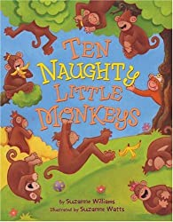 ten naughty little monkeys