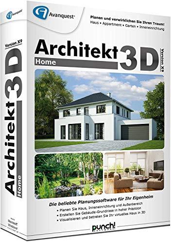 Architekt 3D X9 Home Win Lizenz Product Keycard ohne Datenträger