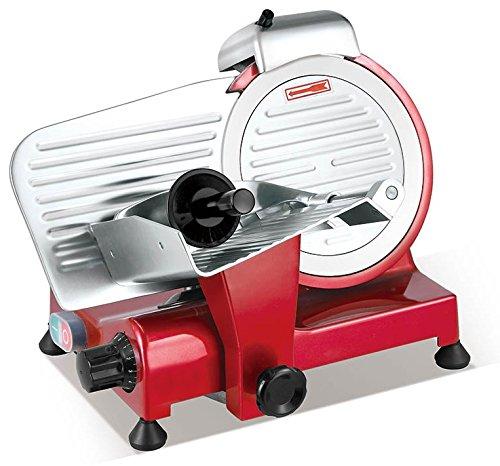 Sirge AFFPROF25R Affettatrice Rossa Professionale Semi Automatica 25 cm 320 Watt