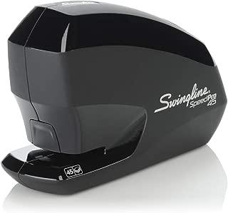 Swingline Electric Stapler, Speed Pro 45, 45 Sheet Capacity, Black (S7042155)