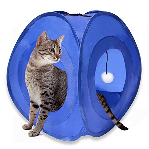 MyDeal Pop Up Instant Kitty Play and Sleep Tent