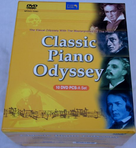 Price comparison product image Classic Piano Odyssey 10 DVD Pcs-a Set