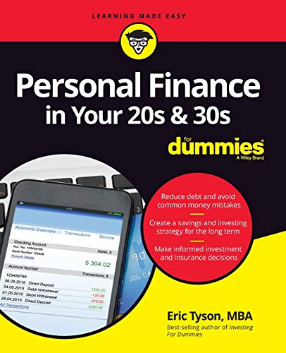 Compare Textbook Prices for Personal Finance in Your 20s & 30s For Dummies 1 Edition ISBN 9781119431411 by Tyson, Eric