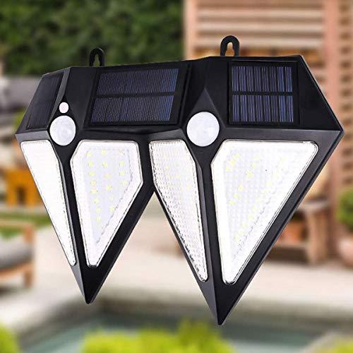 CKQ-KQ Buitenverlichting 80 LED op zonne-energie PIR bewegingssensor wandlamp Outdoor Garden Lamp Waterdicht waterdichte Lamp