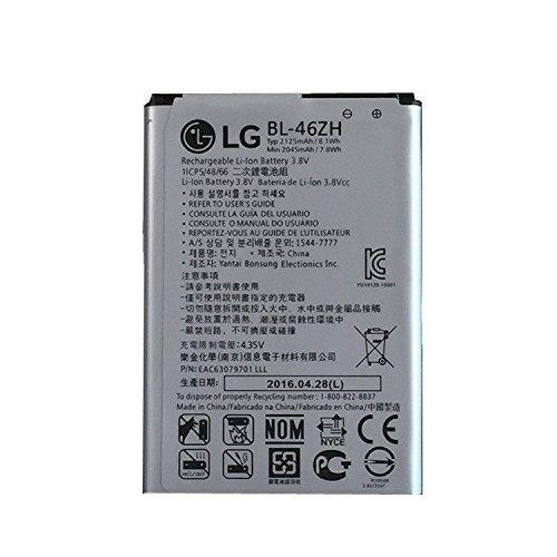 BL-46ZH Battery, Aierly 2125mAh BL-46ZH Battery Packs For LG Leon Tribute 2 K7 LS675 D213 H340 L33 X210 Bateria Batteries