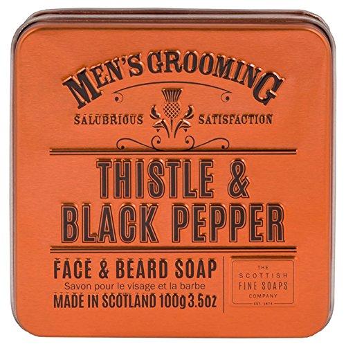 Men's Grooming by Scottish Fine Soaps Thistle & Black Pepper Face & Beard...