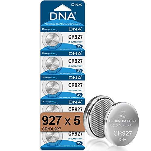 DNA CR927 Lithium-Knopfzellen, 3 V, 5 Stück