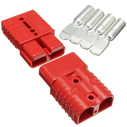 Tutoy 175 Amp Battery Connector Jump Start Slave Assist Paar Rot