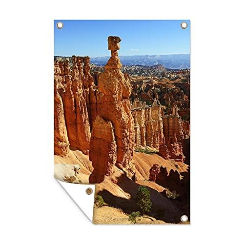 Gartenposter - Thors Hammer im Navajo-Stammespark - 40x60 cm