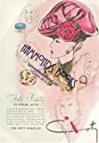 Womens Fashion Advertisement for Coty Air-Spun Make-Up - 'Fall Beauty in Four Acts'