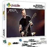 Rompecabezas de 1000 piezas para adultos y niños Metallica Family Puzzle Juego ilustraciones y grandes regalos (75 x 50 cm)
