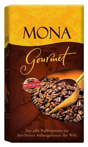 Röstfein Mona Gourmet, gemahlen, 2er Pack (2 x 500 g Packung)