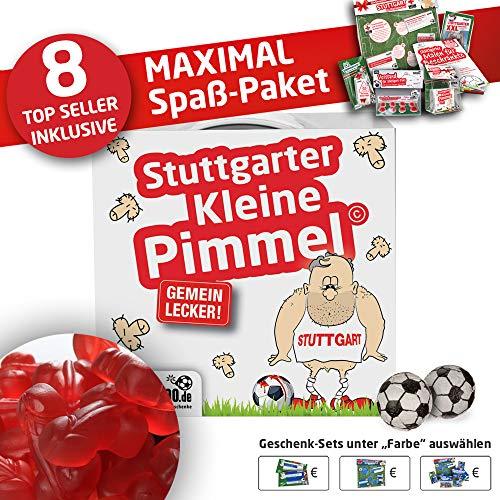 Stuttgart Trainingshose ist jetzt KLEINE PIMMEL Set 2: MAXIMAL-Spass-Paket by Ligakakao.de rot-weiß Herren Puma Jogging lauf-Hose Trainingsanzug