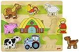Goki 57478 Unser Bauernhofpuzzle, gemischt