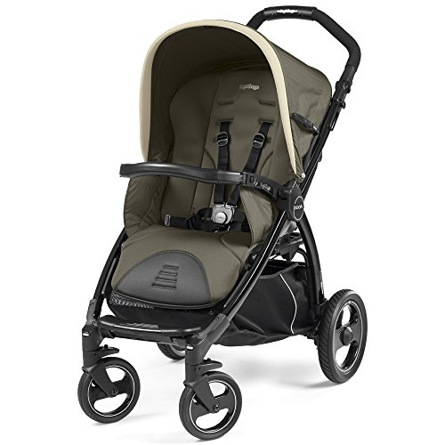 Peg Perego Book Passeggino Compatto, Breeze Kaki