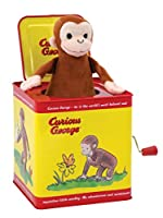 Curious George Jack in the Box by Schylling [並行輸入品]