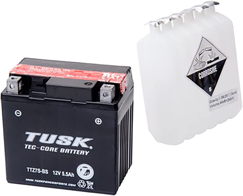 Tec-Core Ranking TOP4 Battery with Kansas City Mall Acid Compatible TTZ7S Maintenance-Free Wit