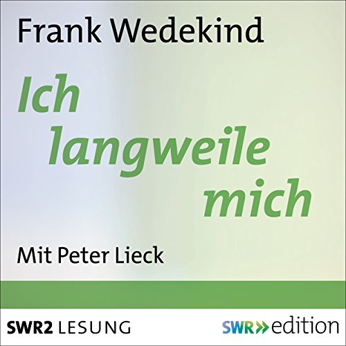 Ich langweile mich audiobook cover art
