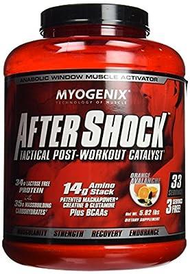 Myogenix AfterShock Tactical Post-Workout Catalyst - Orange Avalanche - 5.82 lbs
