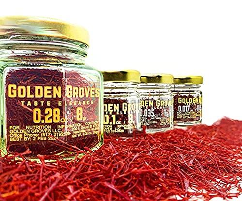 Golden Groves - Large-scale sale Premium Saffron Selected latest Threads Hand Gr Twice